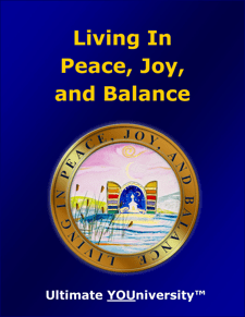 Living in Peace, Joy and Balance - Strategic Marketecture
