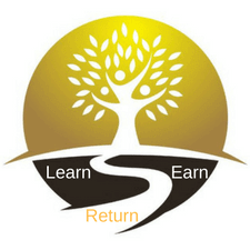 Learn, Earn and Return Logo - Strategic Marketecture